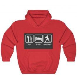 Eat Sleep Baseball Unisex Heavy Blend™ Hooded Sweatshirt