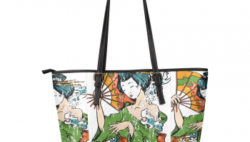 Geisha Leather Tote Bag (Small)