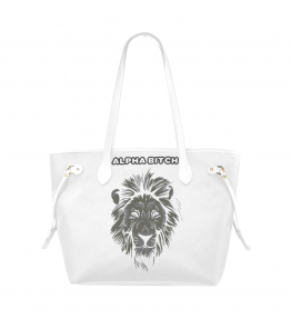 Alpha Bitch - Black/White Classic Tote Bag