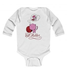 Pink Cat Infant Long Sleeve Bodysuit