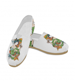 Geisha Slip On Casual Canvas Women's Shoes