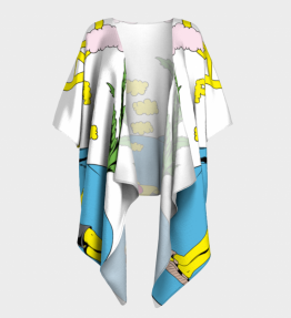 Peace Draped Kimono
