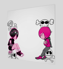 Pink Girl And Boy (Limited Edition)