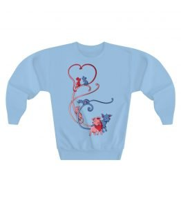 Animal Hearts Youth Crewneck Sweatshirt