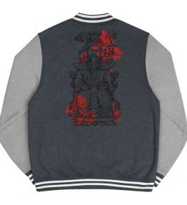 Jade Emperor Men's Letterman Jacket