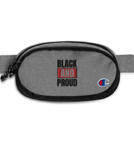 Black and Proud Champion Fanny Pack