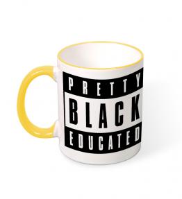 Pretty Black Educated Coffee Mug