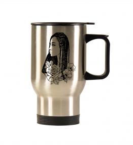 Black Girl With Braids Mug